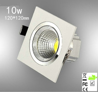 4pcs/lot  10w ,square led ceining light 120lm/w,epistar led chip,,advantage product,high quality  light.3years warranty time