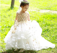 High Quality flower girls dresses for weddings wedding party dress 52121