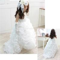 High Quality flower girls dresses for weddings wedding party dress 52123