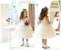 High Quality flower girls dresses for weddings wedding party dress 52126