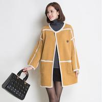 Sweater outerwear sweater overcoat cardigan 8914