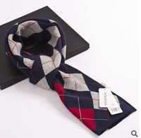 Quality male scarf cashmere thickening thermal Men plaid scarf