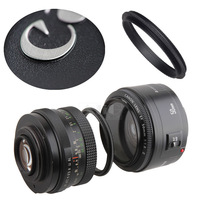 Metal Male thread 52mm to Male thread 58mm Macro Lens Reverse Adapter Ring (45 models provide choice)