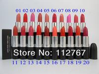 New Lady Sexy Cosmetic Makeup lustre lip stick Beautiful Lipsticks(20pcs/lot) Free Shipping air hkpost