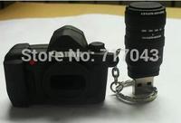 64GB Camera shape usb flash drive pendrive 32GB 4GB 8GB 16GB USB Flash Pen Drive Memory Stick Thumb free shipping!