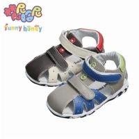 2015 baby boys summer sandals male little boy leahter sandals shoes first walkers sandals beach open toes toddlers sandals