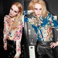 Feitong 2015 Spring Women Casual  Clothing Chiffon Floral Print Shirts Long Sleeve Tops Blouse Plus Size XXXL Free Shipping