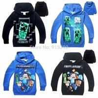 New 2014 Carton Children hoodies kids jackets & coat boys girls outerwear baby spring autumn winter Long sleeve sweatshirts