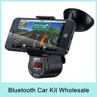 X6 LED Display Multi-functional Phone Holder Car FM transmitter Tunebase 360 Degree Rotation Music On The Go 2015 Wholesale