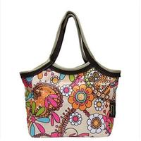 Canvas small bag women's handbag lunch bag women's handbag lunch bags water-proof cloth bags