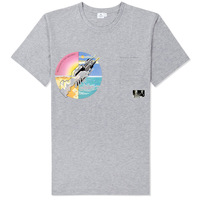 On the thin ice of modern life  pink floyd tee shirt summer new