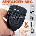 Mini Handheld PTT Speaker MIC For Radio Kenwood QUANSHENG PUXING WOUXUN TYT HYT BAOFENG UV5R 888S
