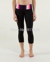 Women Wunder Under Crop Pants Yoga Leggings Fitness Pants Black New SIZE 4 6 8 10
