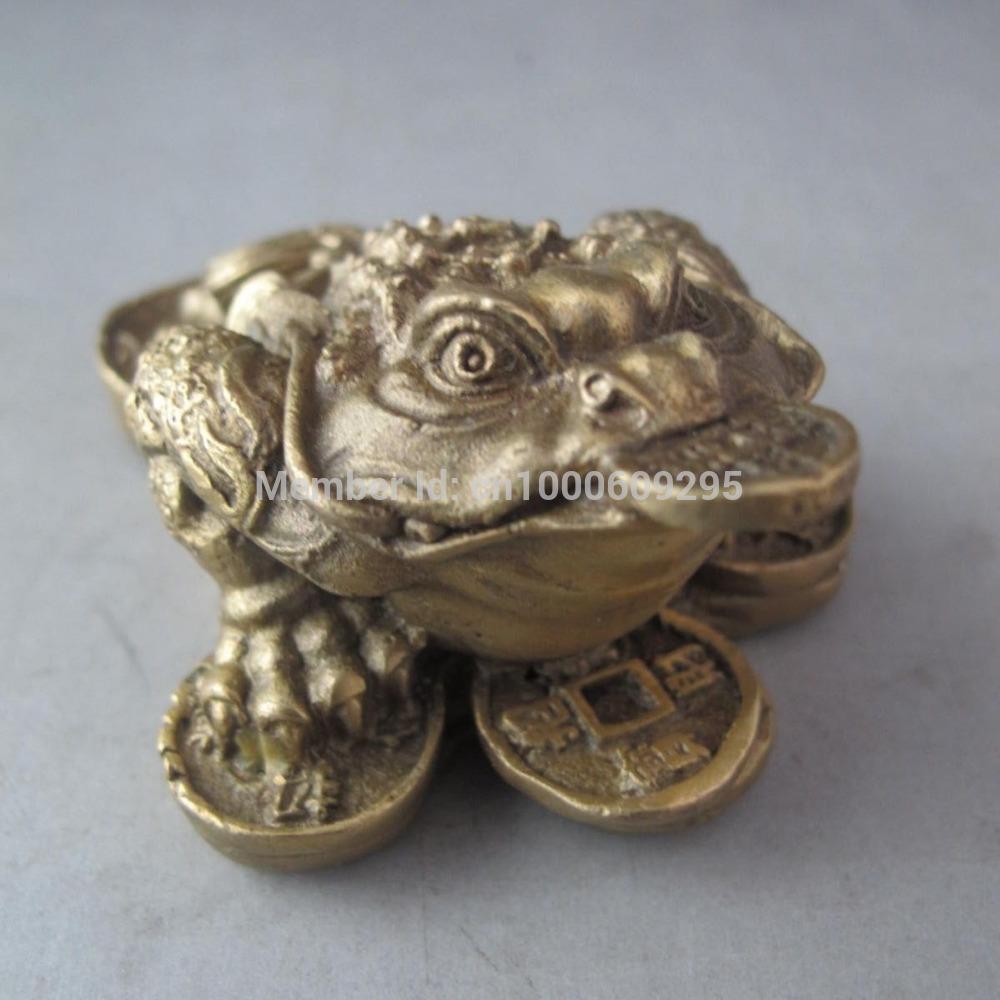 Dinero chino rana compra lotes baratos de dinero chino - Rana de tres patas feng shui ...