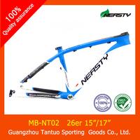 "colorful carbon frame for mountain bike 26er 15""/17"""