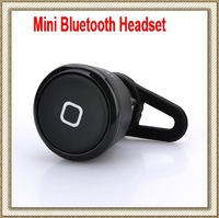 Free shipping 10pcs/lot universal stereo music headset mini wireless bluetooth earphone headphone for all Phones with retail box