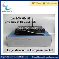 2015 New DVB digital satellite receiver DM800 HD SE with WIFI most popular in European market