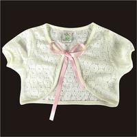 Wholesale Baby Girls Cape Shirts Children Kids Tops Summer Top Fashion White Lace Cape Girl Clothes Children Vestidos Meninas