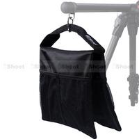 iShoot Improved Portable 2-in-1 Stuff Sack and Counter-balance Weight Sandbag Sand Bag for Tripod Photo Studio Light Stand Boom
