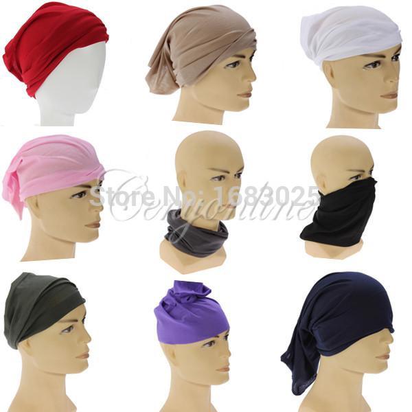 Multi Use Polyester Neck Tube Warmer Beanie Snood Head scarf Scarves Face Mesh Bandanas Do Rag Cycling/Sport Bandana 50*20cm(China (Mainland))