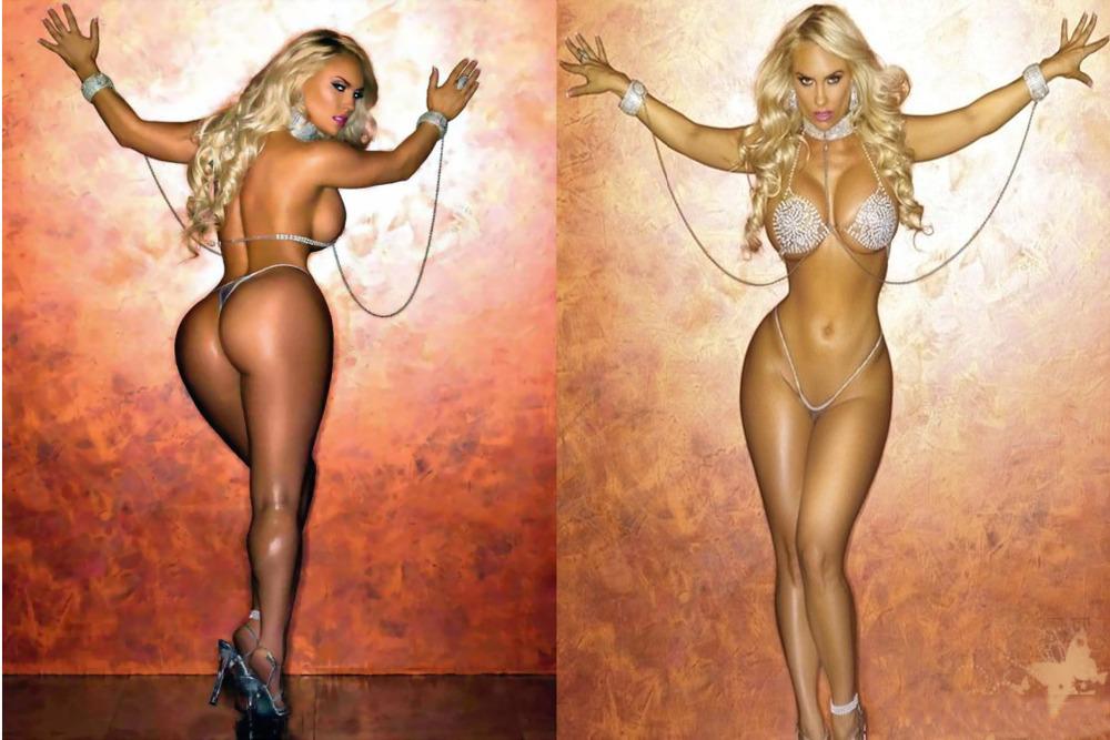 Nicole Coco Austin desnuda mostrando la vagina Fotos