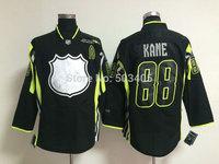 2015 all star Chicago Blackhawks  #88 KANE black hockey Jerseys, mix order