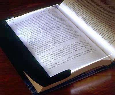 LED Night Book Reading Light Panel Lightwedge Paperback(China (Mainland))
