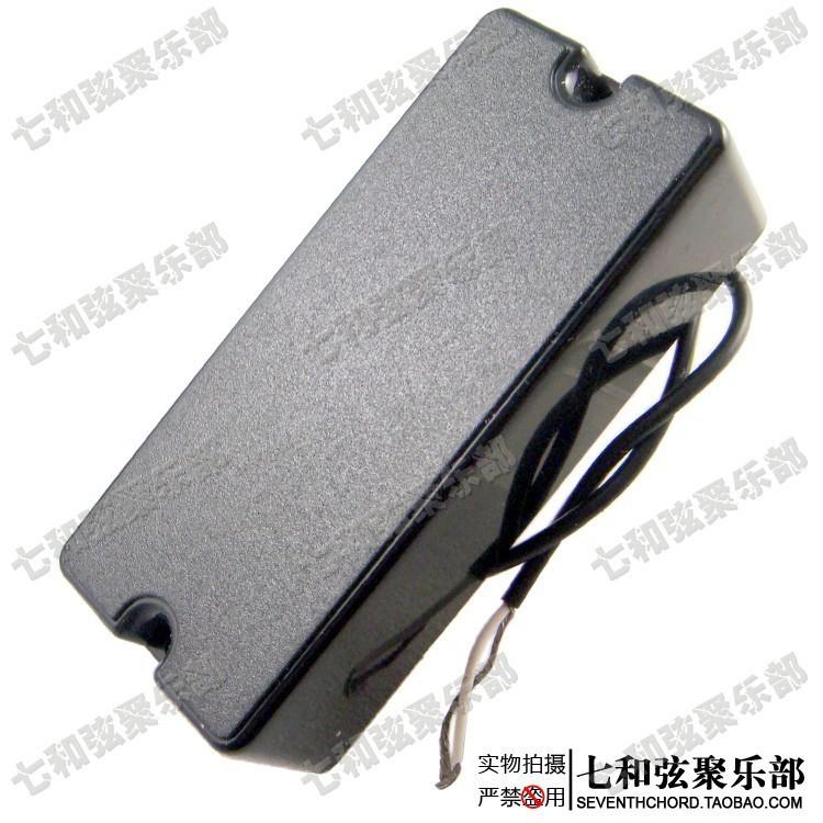 A Set of 2 Pcs Black Sealed 4 string Humbucker Bass Guitar Pickups (BSPICK25415251)(China (Mainland))