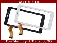 """10 pcs 7 """" 100% New Tablet Touch Screen for Freelander PX1 PX2 / Newman M78 F7 F76 Tablet PC Touch Panel Digitizer FM710101KB"""