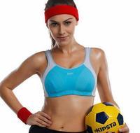 Level 4 sport Bra running bra  Fitness sports bra underwear big code running Bra free shipping B C D DD E F 32 34 36 38 40 42