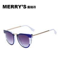2015 MERRY'S New Arrival Outdoor Sports Women Sunglasses Brand Designer Sun Glasses High Quality Eyewear Cat Eye Galsses MRY8511