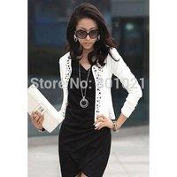 Top Sale Long Sleeve Shrug Suits Short Outerwear Coat Jacket 2015