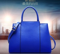 Women Bag 2015 Designers Fashion Europe and America Style PU Oil Wax Shoulder Bag Handbags Messenger Bag Pure colour/Jane 127