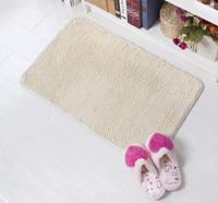 Short Chenille Carpet Comfortable Cushion Soft Area Rug For Living Room Bathroom Slip Resistant Door Mat 50*80cm