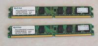 desktop memory DDR2 RAM 4Gb 2Gb 1Gb 800Mhz PC2-6400 computer memoria ddr2 4g 2g 1g 800