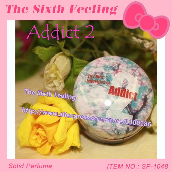 Free Shipping!High Quality Brand original Addict 2 perfumes and fragrances of brand originals women/man solid perfumes SP-1048(China (Mainland))