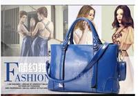 2015 new fashion leather wax leather tide Ms. portable shoulder shoulder bag Messenger female
