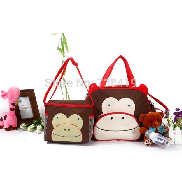High quality!!2015 Multi-functional Nappy Mummy Bag Maternity Handbag Diaper Bags baby Tote Organizer bolsas de bebe maternidade(China (Mainland))