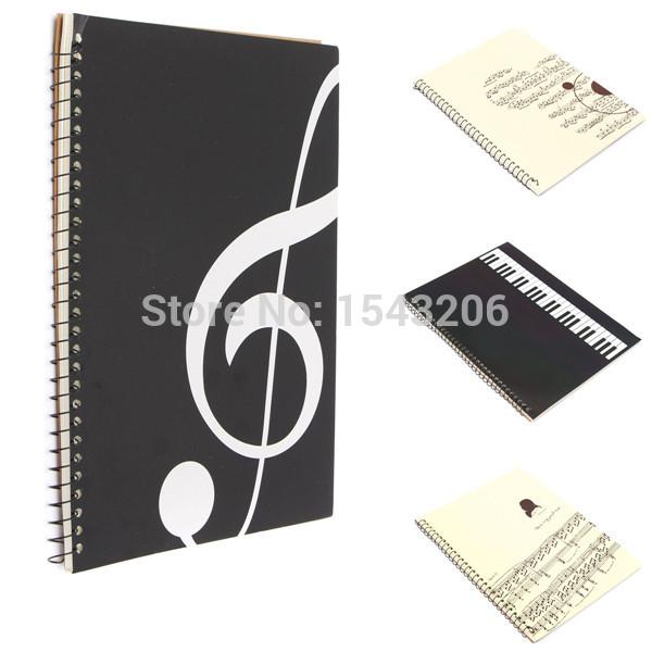 Manuscript Paper Notebook Sheet Manuscript Paper