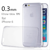 Ultra thin tpu back cover for iphone6 slim soft case for iphone 6 4.7 inch transparent protective shell mobile phone cases
