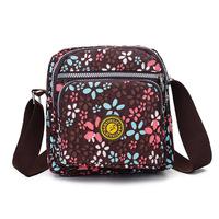 2015 new fashion casual canvas handbag hit color leopard zipper pocket shoulder bag handbag wholesale