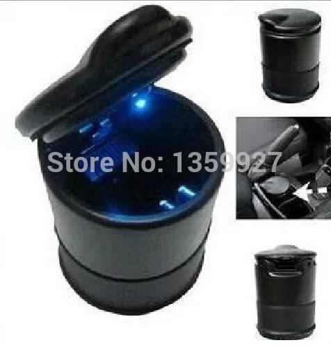 Universal car ashtray with LED for 4s good quality car ashtray(China (Mainland))