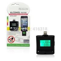 Update High quality LCD Backlight Alcohol Tester Meter Breathalyzer for iPhone 6 5/5S/5C iPad 4 iPad Air iPad Mini iPad Mini 2