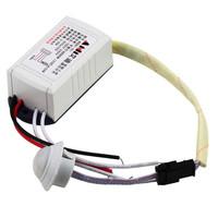 200W 220V IR Infrared Module Body Sensor Intelligent Light Motion Sensing Switch 5pcs/set