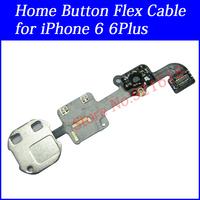 """10Pcs Original OEM Home Menu Button Keypad Flex Ribbon Cable Replacement Repair Parts for iPhone 6 4.7inch 6 Plus 5.5"""" Wholesale"""