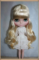 Nude Doll Pale gold hair Children's birthday gift Fashion baby toy