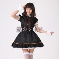 New hot sale  black and white lolita princess doll dress / Lolita Princess anime cosplay