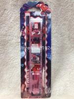 Big Hero 6 Baymax Stationery Set (pencils,pencil caps,eraser,ruler,sharpener) -5 sets