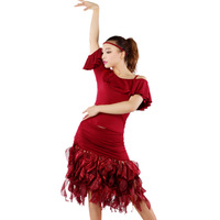 Latin dance dress Special offer latin dance dress women Latin dance costume latin salsa dresses fringe dress ballroom dance dres