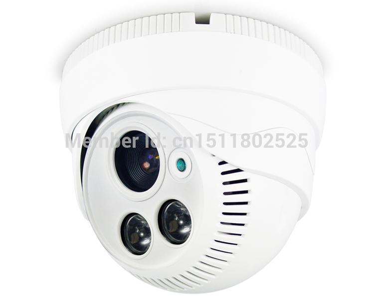 free shipping HD 1000TVL 2 Pcs array led IR cctv camera IR Dome Camera surveillance camera wholesale dome cameras Infrared(China (Mainland))
